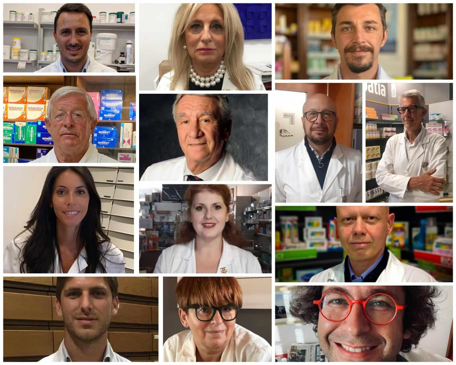 Il direttivo di FarmacieUnite